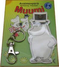 Moomin Moominpappa Original Finland Soft Keychain NIB