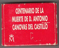 1000 Ptas CENTENARIO DE LA MUERTE DE D. ANTONIO CANOVAS DEL CASTILLO ( MB773 )