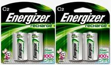 2 - Energizer Rechargeable C Nimh Batteries 2 Pack