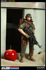 """Machine Gunner Code Name Rock N Roll G.I. Joe Military Army 12"""" Figur Sideshow"""