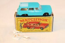 Matchbox Lesney No 42 Studebaker Station Wagon BPW MINT & RED PICTURED RARE BOX