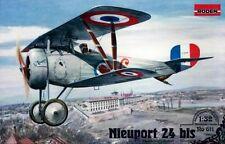 Nieuport ni 24 bis (français, polonais, américains, soviétiques et lituanien MKGS) 1/32 roden