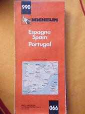 carte michelin 990 Espagne  portugal 1981