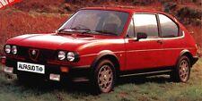 original Alfa Romeo Quadrifoglio Verde Alufelgen Alfasud Alfa 33 rar selten