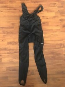 CRANE BIKE BLACK CYCLING ALL IN ONE PADDED SUIT SIZE MEDIUM SLEEVELESS