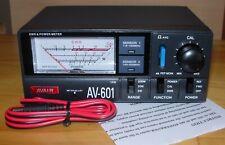 Avair AV-601 SWR/power meter & OPEK DL-60 Dummy Load + leads
