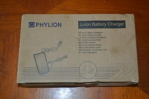 Phylion 36V 42V 5 pin Fast Battery Charger for e-Bikes. New & Boxed. Pendleton