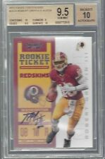 ROBERT GRIFFIN III 2012 CONTENDERS ROOKIE TICKET SP AUTO RC /238 BGS 9.5 w 10 AU