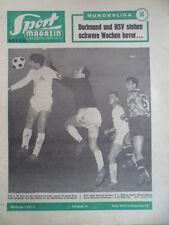 SPORT MAGAZIN KICKER 48 A - 2.12. 1963 * BVB-Köln 3:2 Stuttgart-Braunschweig 5:0
