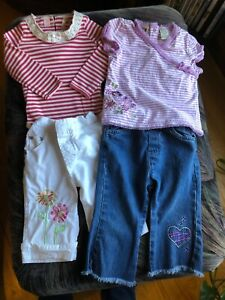 Girls Outfits Lot Of Two Size 18 Months