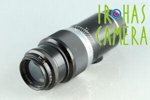 Leica Leitz Hektor 135mm F/4.5 Lens for Leica L39 #33969 E6