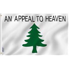 Anley Fly Breeze 3x5 Foot an Appeal to Heaven Flag Pine Tree Flags Polyester