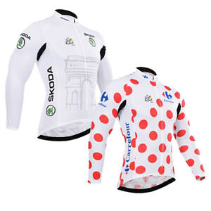 Tour de France LCL Retro Cycling Jersey Long Sleeve