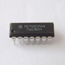 5x Motorola MC74HC04AN  PDIP-14 74HC04