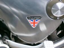 Triumph Bonneville Bobber / Speedmaster Alternator Cover sticker. (Black)