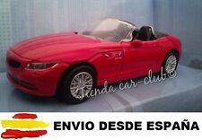 BMW Z4 ROJO COCHE DE COLECCIÓN A ESCALA 1:43 ENVIO CERTIFICADO