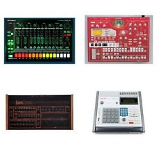 Roland TR08 Korg Electribe ESX1 Linndrum Akai MPC60 Sample CD Library Bundle