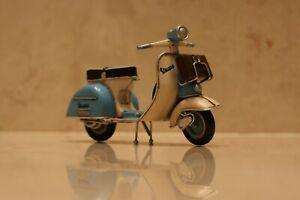 Tin toy retro figurine classic interior  decoration Vespa Bike scooter