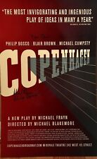 COPENHAGEN Cast Signed Broadway Poster Windowcard