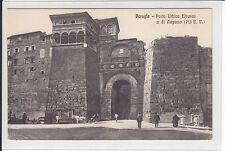AK Perugia, Umbria, Porta Urbica Etrusca, ca. 1910