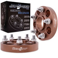 JAPSPEED HUBCENTRIC 25mm 5x114.3 SPACERS FOR MAZDA 3 6 MPS RX7 RX8 MX5 05+ DRIFT
