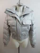 Belstaff Jacke Daunenjacke Silver Fox Bomber Lady Goose Down It.42 Dt.38 Toll