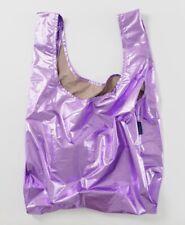 Rare Lilac Metallic Baby BAGGU * New * Reusable Shopping Bag
