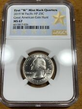 2019-W 25c Guam War In The Pacific Quarter NGC MS67