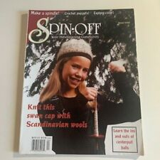 Spin-off Magazine Winter 2000: Knits, color, Vests, Socks, Scandinavian Wool