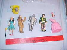"Vintage 1988 Wizard of Oz Dorothy Figure Mgm Turner 4"" Loin Tinman Plus"