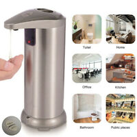 Automatic Touchless Soap Dispenser Handsfree IR Sensor Liquid Hand Wash-Bathroom