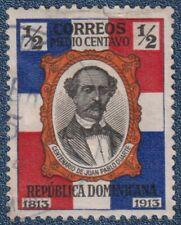 DOMINICAN REPUBLIC  1/2 Centavo Good Used (P1)