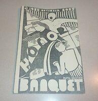 Ann Arbor Michigan Pioneer High School Honor Banquet 1927 Program Vintage Scarce