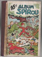 SPIROU album n°16 - n°6 à 22 de 1945 - bel état, complet