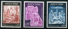 Andorra-franz 204 - 206 postfrisch, Fresken