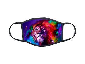 Masque de protection personnalisé Animal lion mask Réf 1298