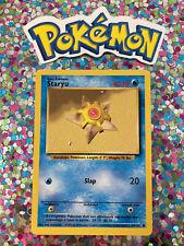 New Listing�� Staryu Base Set Pokemon Card Wizards WotC Game Freak Nintendo 1999 �