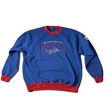 Vintage 90s Logo Athletic Buffalo Bills Embroidered Sweatshirt XL