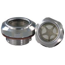 OLIO IDRAULICO/FILTRI E ACCESSORI-livello dell'olio in alluminio G1/2 vista vetro 1-029