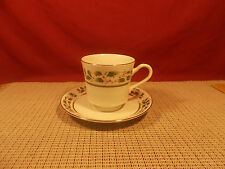 Royal Limited China Holly Holiday Pattern Cup & Saucer Set