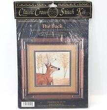 CROSS MY HEART INC The Buck CSBK-54-8 Classic Cross Stitch Kit 9.3x9.3 1996 K10