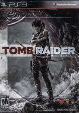 Tomb Raider Steelbook Sony Playstation 3 PS3 NEW