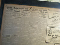 Lynched Lynching History Newspaper FOUR LYNCHED RUSSELLVILLE KENTUCKY