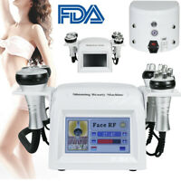5IN1 Ultrasonic Cavitation Radio Frequency Vacuum RF Body Slimming Machine Fast