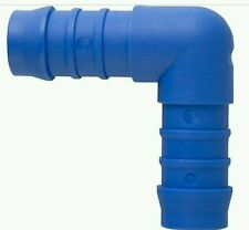 19mm TEFEN NYLON Plastic 90 Degree Elbow HOSE CONNECTOR Water/Pond Joiner QTY-1
