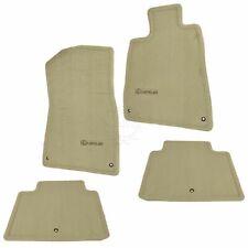 OEM Floor Mat Carpet Cashmere Tan Kit Set of 4 LH RH Front & Rear for Lexus