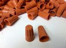 (500 pc) Orange Screw-On Nut Wire Connectors P3 Small Barrel lot UL Listed 22-14