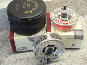 HARDY Ultralite Disc LA #7/8 Fly reel and spare spool