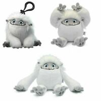 Movie Abominable Monster Snowman Plush Figure & Keychain Toy Stuffed Doll Gift