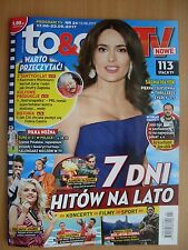 SALMA HAYEK on front cover Polish Magazine TO & OWO TV 24/2017 in.The Kooks